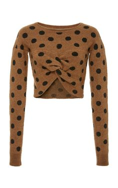 Polka Dot Embrace Deconstructed Sweater by Rachel Comey   Moda Operandi