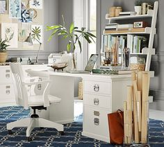 Why settle for an institutional looking office when you can have one that reflects your personal style?