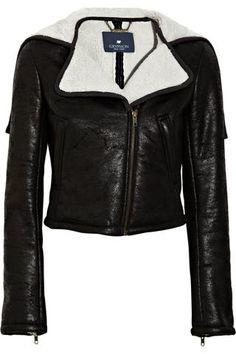 Gryphon Faux shearling biker jacket – Keep.com
