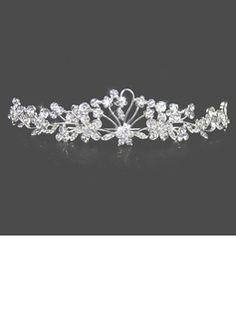 Attractive Clear Crystals Wedding Bridal Tiara (042004253)