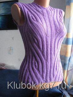 Вязание спицами   VK