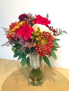 Fall bride's bouquet
