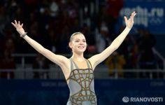 Adelina Sotnikova, gold medal.  Sochi 2014.