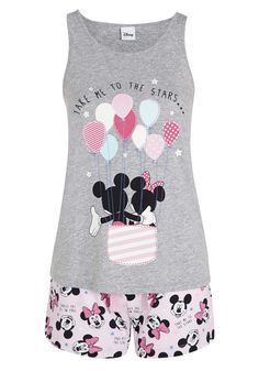 Clothing at Tesco | Disney Mickey Mouse Take Me To the Stars Shorts Pyjamas > nightwear > Nightwear & Slippers > Women