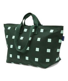 Loving this Forest Green & White Weekend Bag on #zulily! #zulilyfinds
