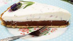schoko-lavendel tarte - enie backt
