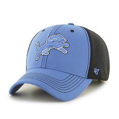 cf171bb4b1aa0 Detroit Lions Cooler MVP Blue Raz 47 Brand Adjustable Hat