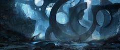 Abstract ruins by Grosnez.deviantart.com on @deviantART