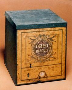 Original Oreo Biscuit packaging 1912