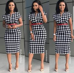 Corporate attire for Women Classy Dress, Classy Outfits, Chic Outfits, Dress Outfits, Fashion Outfits, Work Outfits, Latest African Fashion Dresses, African Print Fashion, Africa Fashion