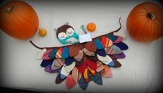 Wrap Scrap Owl Wings and Newborn Hat by WrapScrapCreations on Etsy, $60.00