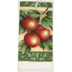Red Apple Kitchen Decor | Anns Home Decor and More - APPLES apple frame red green cotton kitchen ...