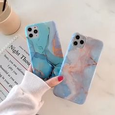 Cartoon Marble iPhone Case – Phone case for girls