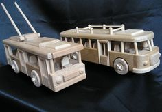 Bus ŠKODA. 39,99 € Natural handmade wooden toys Czech production. Lacquered natural wax, Children safe. www.soly-toys.com