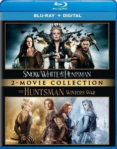Snow White and the Huntsman/The Huntsman: Winter's War [Blu-ray]