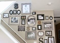 23 Picture Frames, Mixed sizes and styles - Make a Gallery Wall!