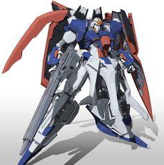 Zeta Gundam (aka Zeta, Ζ Gundam, ζ Gundam) is the titular mobile suit of Mobile Suit Zeta Gundam. Though the unit itself had many pilots throughout Zeta Gundam and Mobile Suit Gundam ZZ, it was most famously piloted by its designer, Kamille Bidan. Zeta Gundam, Gundam Wallpapers, Gundam Seed, Gundam Art, Japanese Anime Series, Mecha Anime, Super Robot, Robot Design, Gundam Model