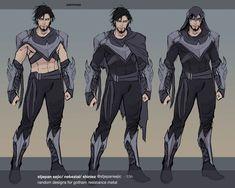 """old random designs for justice league odyssey and dark knights metal tie ins"" Batman Kunst, Batman Art, Batman Comics, Dc Comics, Batman Story, Batman Robin, Nightwing Cosplay, Comic Books Art, Comic Art"