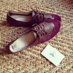 #New #custom #custommade #leather #fringed #oxfors #shoes ! #oxblood #burgundy #elehandmade #fashion #trendy #spectators #shoelovers #shoesaddict