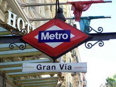Madrid Metro Gran Vìa