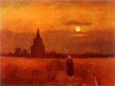 The Old Tower in the Fields - Vincent van Gogh