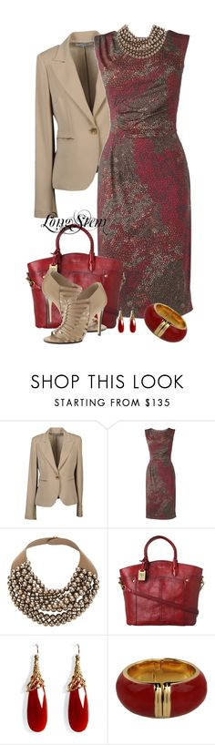 """""""Untitled #620"""" by longstem ❤ liked on Polyvore featuring CristinaEffe, Phase Eight, Rossana Fani, Frye, Alexis Bittar, Moschino and KORS Michael Kors"""