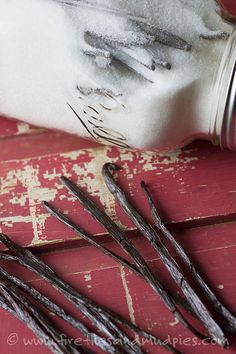 Take your fall and holiday baking to the next level with DIY Vanilla Sugar | Fireflies and Mud Pies