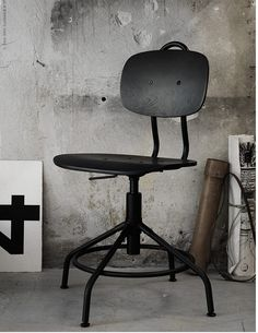 New Industrial Vintage Style Office Chair At IKEA