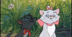 Berlioz and Marie! Disney Films, Disney Pixar, Walt Disney, Aristocats Movie, Cynical Quotes, Marie Cat, Alley Cat, Pooh Bear, Cute Disney