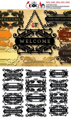 Welcome Home Signs, Text Frame, Bottle Wall, Bullet Journal Art, Metal Letters, Plate Design, Wooden Art, Family Signs, Wall Signs