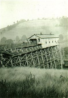 Toby, PA was home to the Toby Mine and the Limestone Mine. This vintage photo is the tipple for the Limestone Mine.