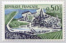 Cognac - Timbre de 1961