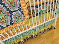 Baby BeddingMADE TO ORDERGirl Crib Bedding Set by LittleCharlieMay, $459.00