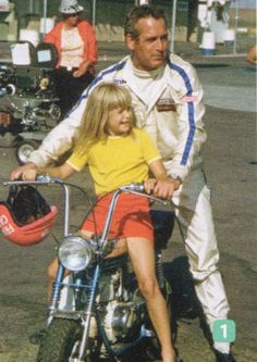 Paul Newman & daughter Nell.