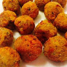 Tasty Fried Eggplant Balls Low Carb Recipes, Vegetarian Recipes, Cooking Recipes, Healthy Recipes, Vegetable Recipes, Delicious Recipes, Easy Recipes, Healthy Food, Healthy Eating