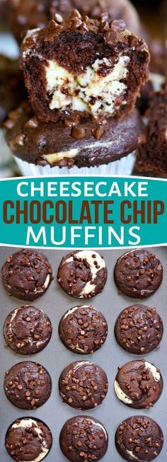 Cheesecake Chocolate Chip Muffins - Favours Food