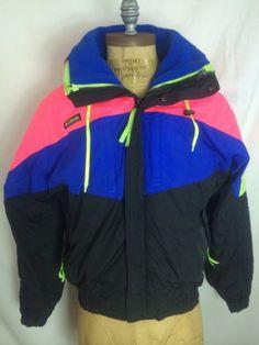 Vintage Columbia Wizbang Men's Size M Ski Snowboard Jacket And Fleece