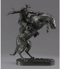 108 Broncho Buster, Frederic Remington, Sotheby's, NY May 19, 2010.