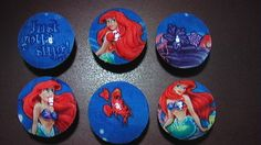 Handmade Knobs Drawer Pull Set of 6 Little Mermaid Set  Dresser Knob Pulls Switch Plate Covers to Match in Shop