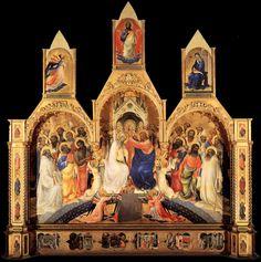 Lorenzo Monaco | The Coronation of the Virgin