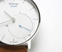 La montre connectée à aiguilles par le français Withings
