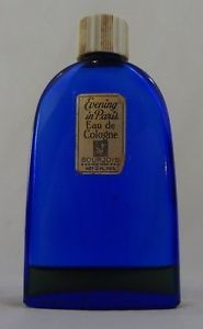 Vintage Bourjois Evening in Paris Cologne 2 fl. oz. Bottle 10% full