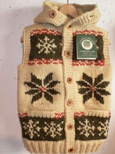 CANADIAN SWEATER COWICHAN HOODED VESTの画像: Dude Ranch blog