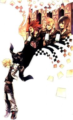 Kingdom Hearts 358/2 Days.