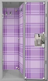 It's easy to give your locker a high-fashion makeover with LockerLookz. Shop our cute, affordable locker decorations and accessories. Locker Wallpaper, Plaid Wallpaper, Locker Ideas, Locker Organization, Locker Decorations, School Lockers, Evolution T Shirt, Stow Away, Rubber Flooring