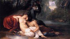 Francesco Hayez, Rinaldo and Armida, c. 1812-13