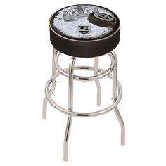 Los Angeles Kings NHL D2 Retro Chrome Bar Stool. Visit SportsFansPlus.com for details.