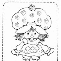original strawberry shortcake coloring pages | 68 Best Crafty (80's Strawberry Shortcake) Coloring images ...