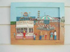 Queens County Fair Art Sites, County Fair, Folk Art, Queens, Holiday Decor, Frame, Red, Picture Frame, Popular Art