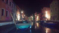 @Burano #Burano at night